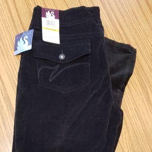 Ladies size 14 cords black Gloria Vanderbilt